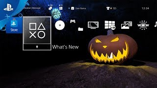 Haunted Halloween Spooky Dynamic Theme - Trailer | PS4