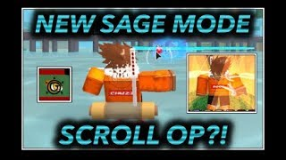 [061] SHOWCASING IL NUOVO TOAD SAGE MODE JINCHUURIKI MODE VS SAGE MODE ROBLOX NRPG- Oltre