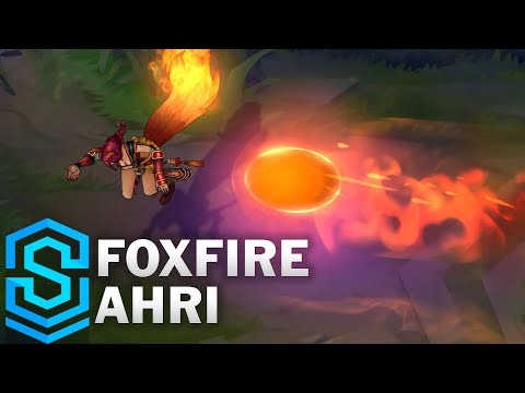 Foxfire Ahri (2020) Skin Spotlight - League of Legends