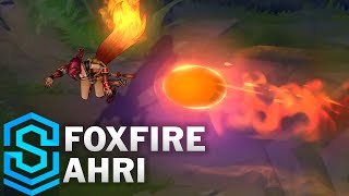 Foxfire Ahri (2020) Skin Spotlight - League of Legends