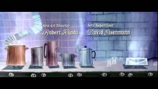 Best Animated Title Sequence and Credits - Ratatouille