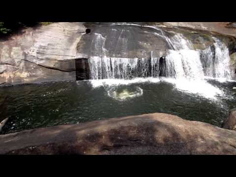Brent Moody at Turtle Back Falls