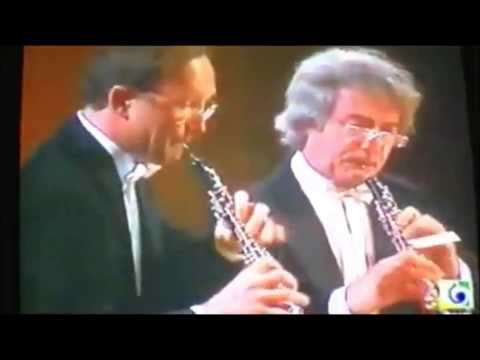 Maurice Bourgue et Heinz Holliger:duo de hautbois