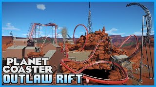 BULLION BILL'S OUTLAW RIFT! Triple Ride Blueprint! Coaster Spotlight 236 #PlanetCoaster