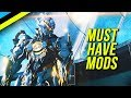 Must Have Mods For All Warframe Players | Warframe Beginners Guide Part 7