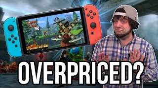 Are Hyrule Warriors and Donkey Kong Country Switch OVERPRICED? | RGT 85