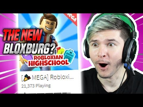 THE NEW ROBLOX BLOXBURG!! (Robloxian Highschool Update)
