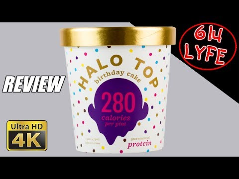 Halo Top Ice Cream Review Birthday Cake Flavor