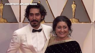Oscar 2017 Red Carpet : Dev Patel Brings His Mother As a Date At The 89th Academy Awards- Oscar 2017