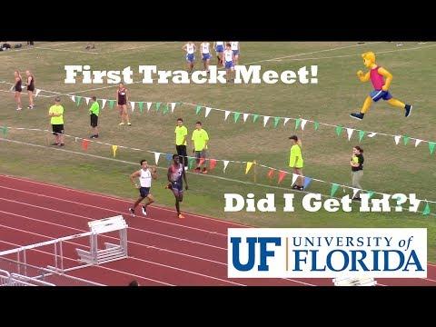 First Track Meet! - University of Florida Application Notification!