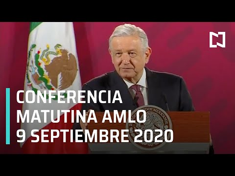 Conferencia matutina AMLO / 9 de septiembre 2020