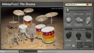 ABBEY ROAD DRUMS Tutorial