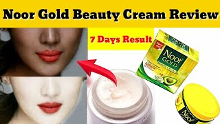 Noor Gold Beauty Cream Review - Beauty Tips - Whitening Cream
