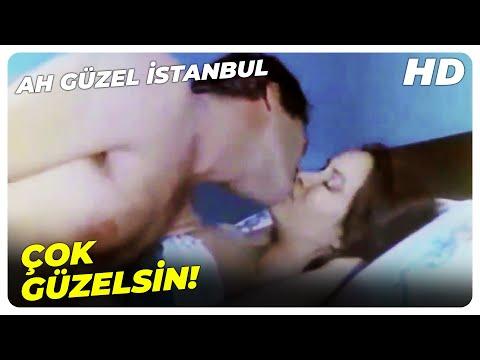 Ah Güzel İstanbul - Böyle Öpmek De Nerden Çıktı? | Kadir İnanır, Müjde Ar Eski Türk Filmi
