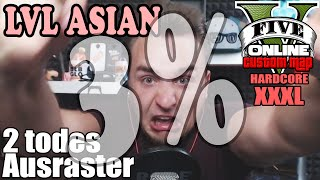 3% LVL ASIAN XXXL HARDCORE  ☆ GTA 5 Custom Maps & Stunts | LPmitKev