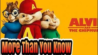 More than You know Axwell /\ Ingrosso - Chipmunks Version(Clip Video)