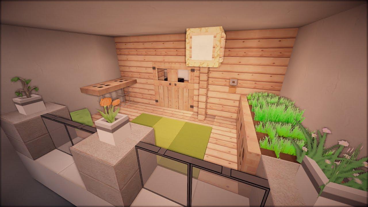 Minecraft modernes haus einrichten folge 5 youtube - Minecraft haus einrichten ...
