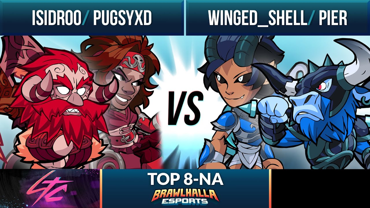 Isidroo & Pugsyxd vs Winged Shell & Pier - Top 8 - Low Tier City 2020 - 2v2 NA