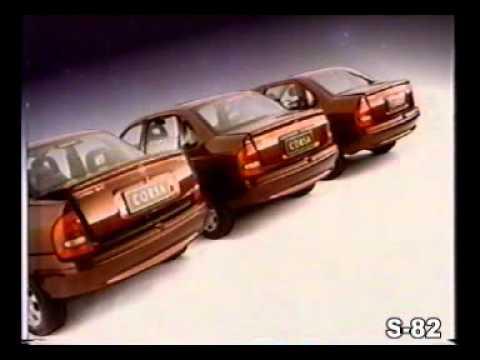 PROPAGANDA COMERCIAL GM CHEVROLET OPEL CORSA SEDAN 1999 BRASIL BRAZIL