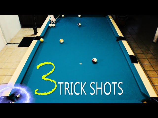 3 Pool Trick Shots: Volume 8