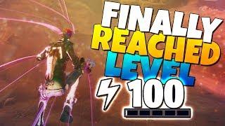 FINALLY POWER LEVEL 100 ON FORTNITE!