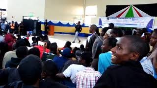 erick omondi live kibabii university