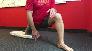 Fini la douleur sciatique et la lombalgie - étirement adducteurs et fléchisseurs hanche