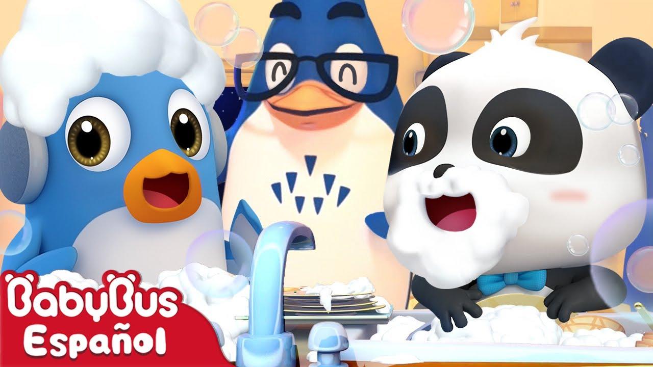 Buen Padre Mal Padre | Dibujos Animados | Kiki y Sus Amigos | BabyBus Español