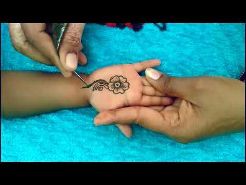 BEST Mehndi Designs For Kids - Latest Mehndi Designs For Hands Beautiful Kids