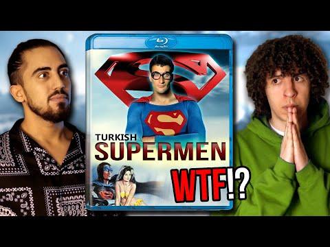 Türkisch SUPERMEN - wie der echte Superman, bloß überhaupt nicht!   Jay & Arya