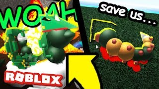 RAYQUAZA WEEDLE in Roblox Pokemon!