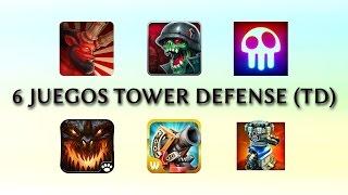 6 Juegos Tower Defense (TD) para Android!