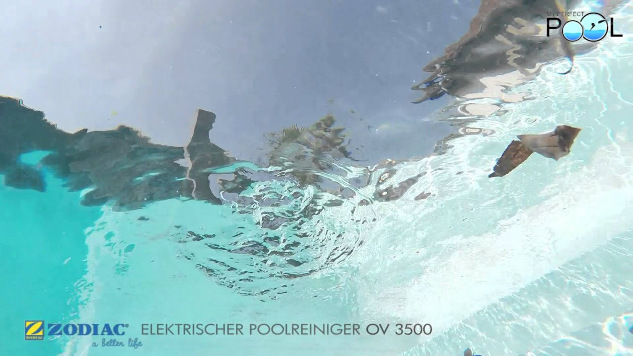 Poolreiniger ov 3500 von zodiac erh ltlich bei youtube - My perfect pool ...