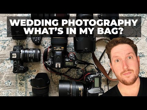 WEDDING PHOTOGRAPHY - WHAT'S IN MY BAG? Nikon D850