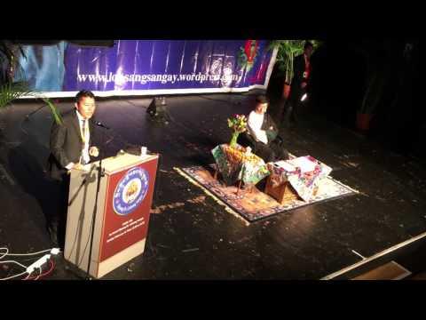 Sikyong Lobsang Sangay in Swiss