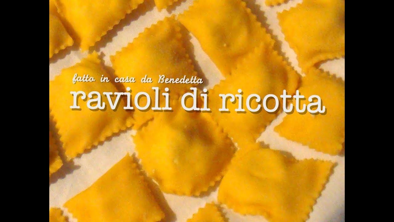 Ravioli con ricotta fatti in casa da benedetta youtube for Gnocchi di ricotta fatto in casa da benedetta