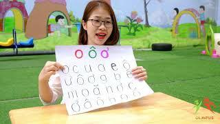 Trò chơi ghi nhớ số và chữ dành cho trẻ 4 tuổi - Hệ thống trường mầm non Olympus
