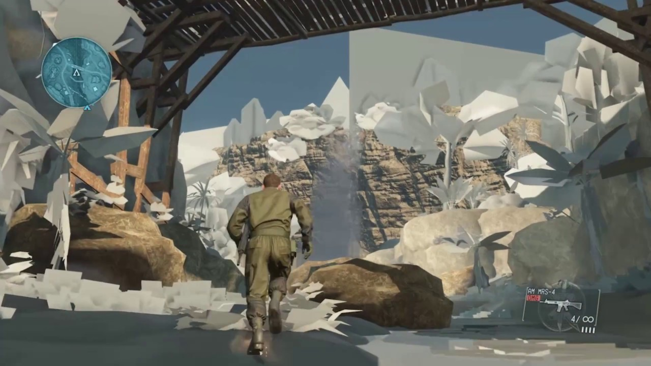 Level Design in Metal Gear Solid V The Phantom Pain - Behind the ...