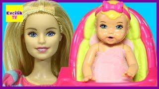 Barbie | Barbie Bebek Bakıcısı | Bakıcı Barbie Oyuncak Seti Tanıtımı | Evcilik TV