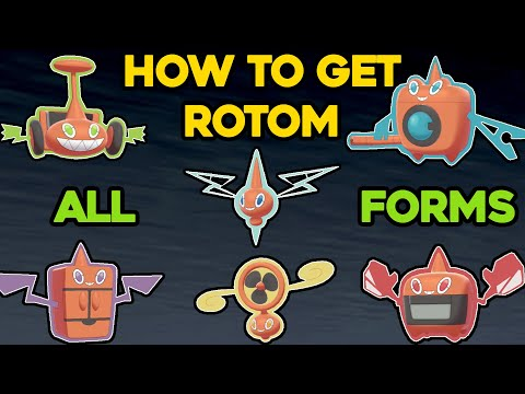 HOW TO GET ALL ROTOM FORMS IN POKEMON SWORD AND SHIELD! HOW TO GET THE ROTOM CATALOG!