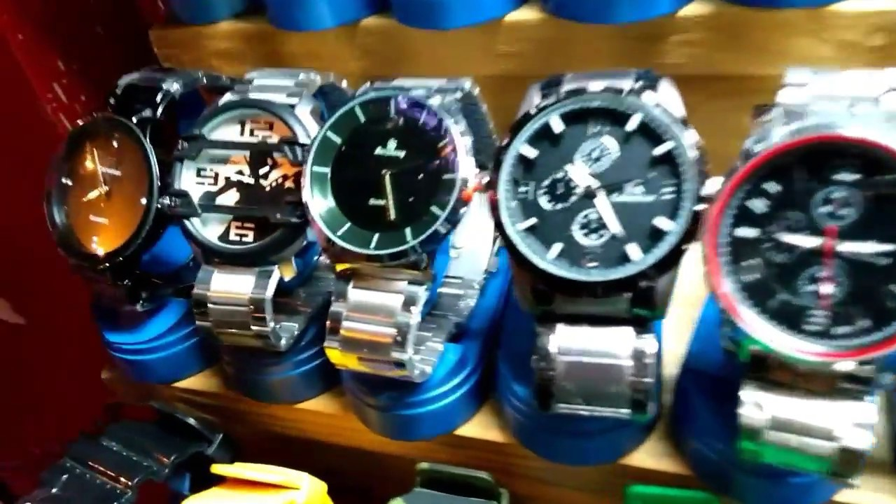 Branded Watches At 300 Very Cheap Price Chor Bazar Rolex Tommy Helifer Ck And Other Brand