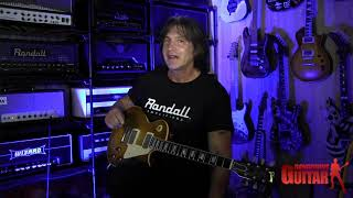 George Lynch Test Driving The Friedman Dirty Shirley 40 watt