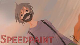 Speedpaint - Ao (my oc)