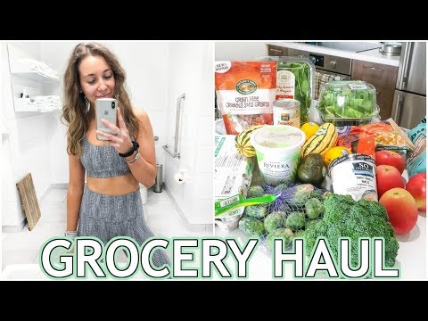 Healthy Grocery Shopping | healthy meal ideas grocery haul