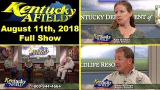 August 11, 2018 - Ky Afield Non Game Call in Show