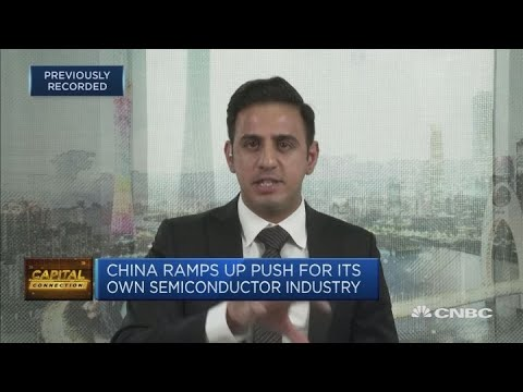 China Ramps Up Push For Its Own Semiconductor Industry | Capital Connection