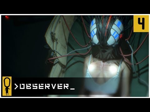 👁 PAULINA AND PIETA 👁 - OBSERVER Gameplay Ep 4 - Let's Play OBSERVER Walkthrough