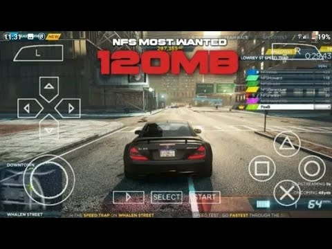 Download Jinsi Ya Kudownload NEED FOR SPEED MOST WANTED ppsspp Android Offline (MB 120)