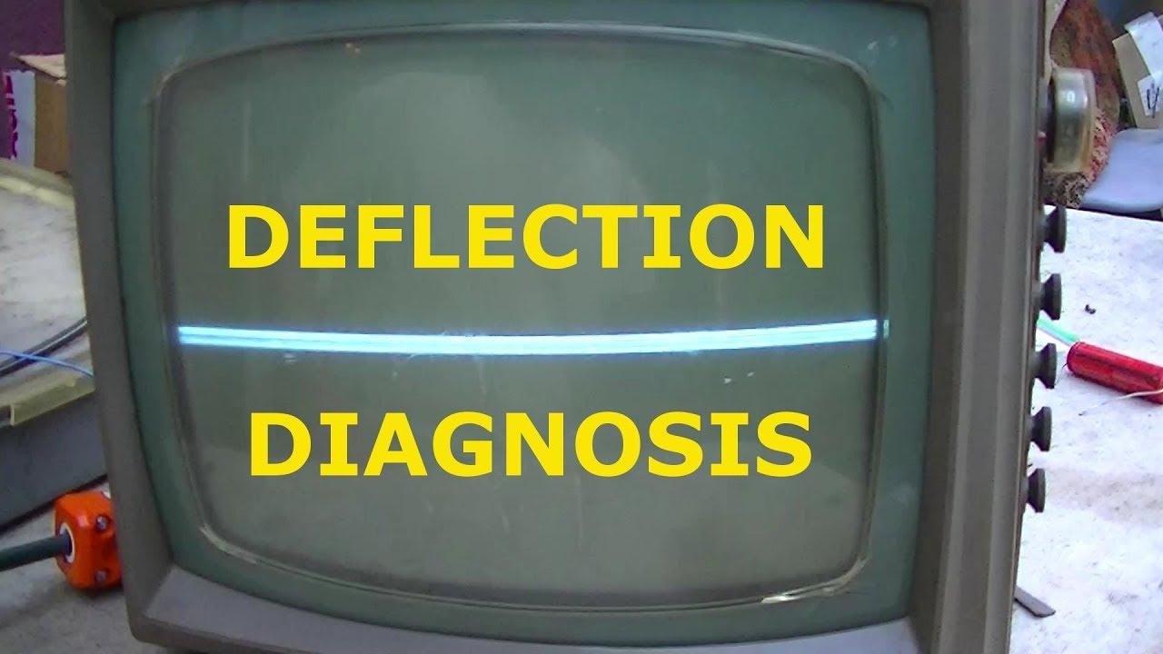 tube television vertical deflection repair 101