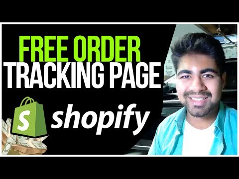 How To ADD Order Tracking Page For FREE On Shopify (MONEY SAVER STRATEGY) thumbnail